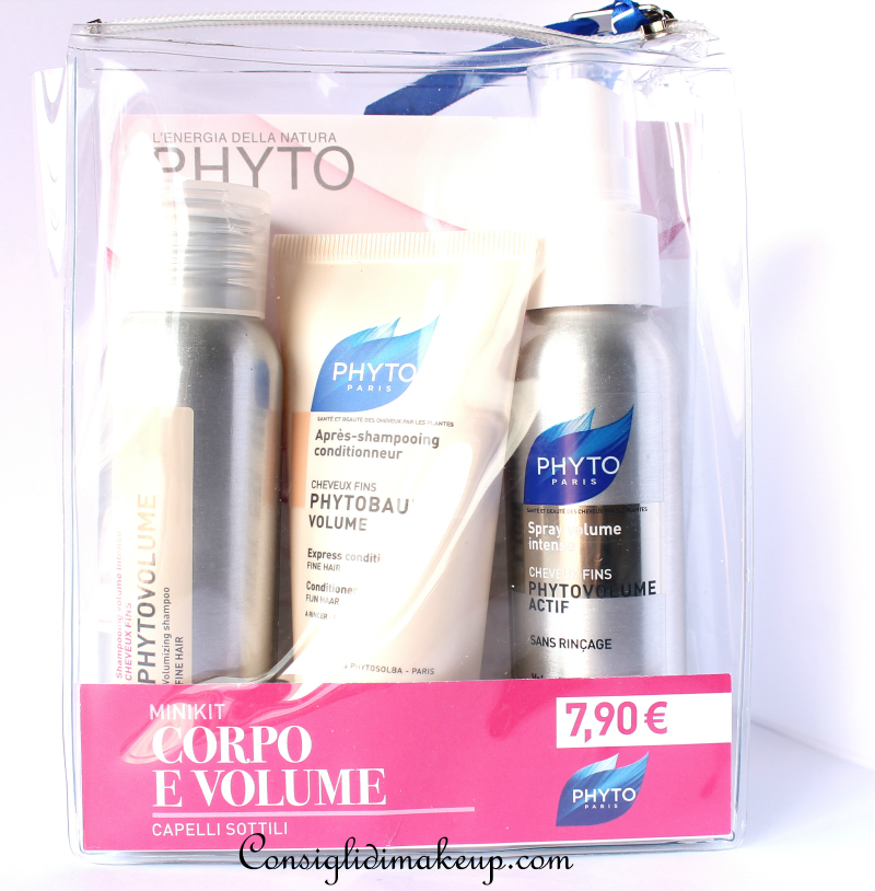 Review: Minikit Corpo e Volume Capelli Sottili - Phyto
