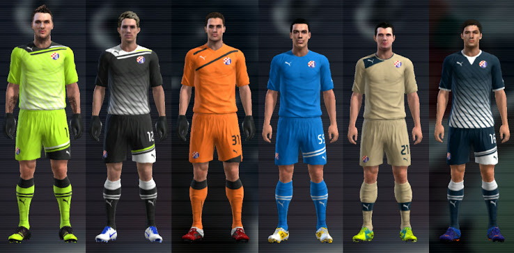 PES 2012 Dinamo Zagreb 12 13 Kit Set by Cuky