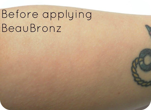After Applying Abi-O BeauBronz