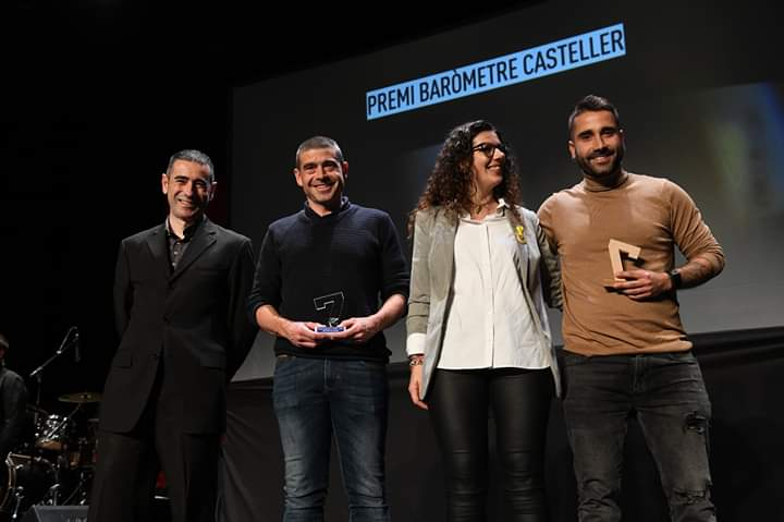 Premi Baròmetre Estrella DAMM 2019 #14aNitDeCastells
