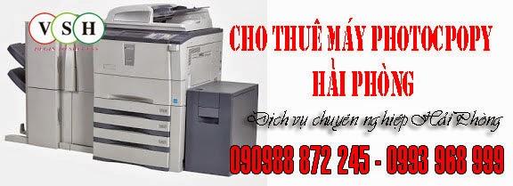 Cho thue may photocopy Hai Phong re nhat