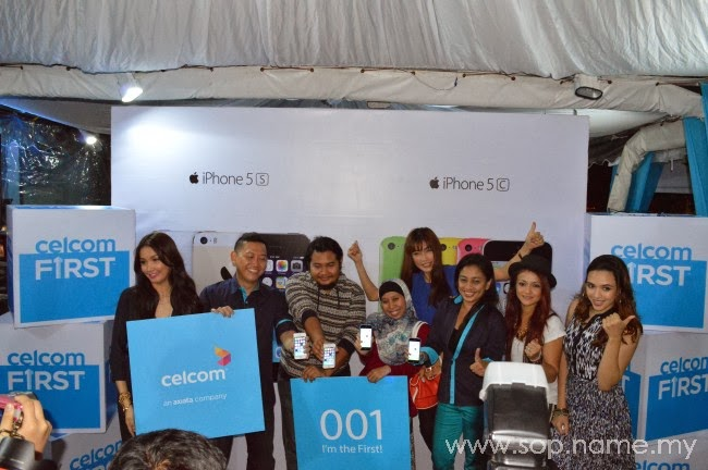 Celcom lancar iPhone 5C dan iPhone 5S