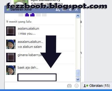 Cara Menyembunyikan Waktu Chatt Pada Saat Chatting Facebook