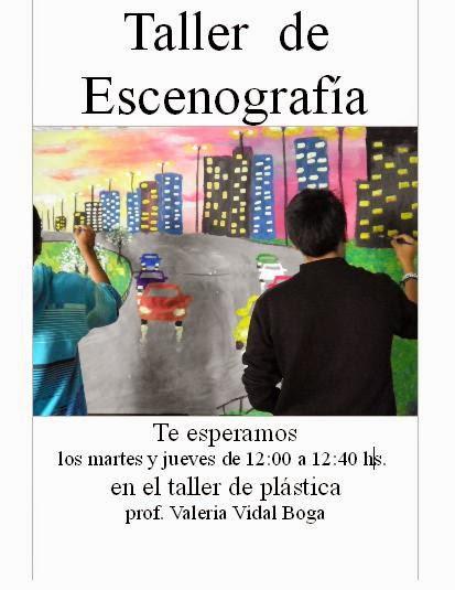TALLER DE ESCENOGRAFÍA
