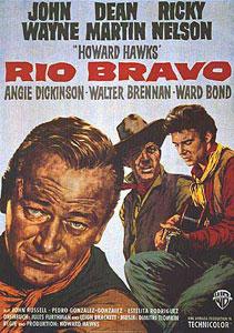 Poster original de Río Bravo