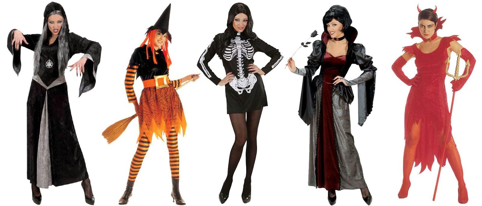 Kvindkostumer til halloween