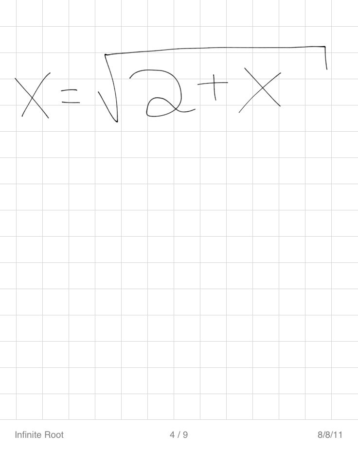 how to get rid of an exponent with square root