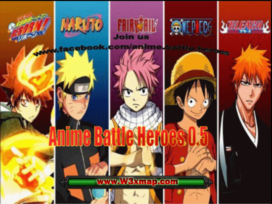 Anime Battle Heroes (New