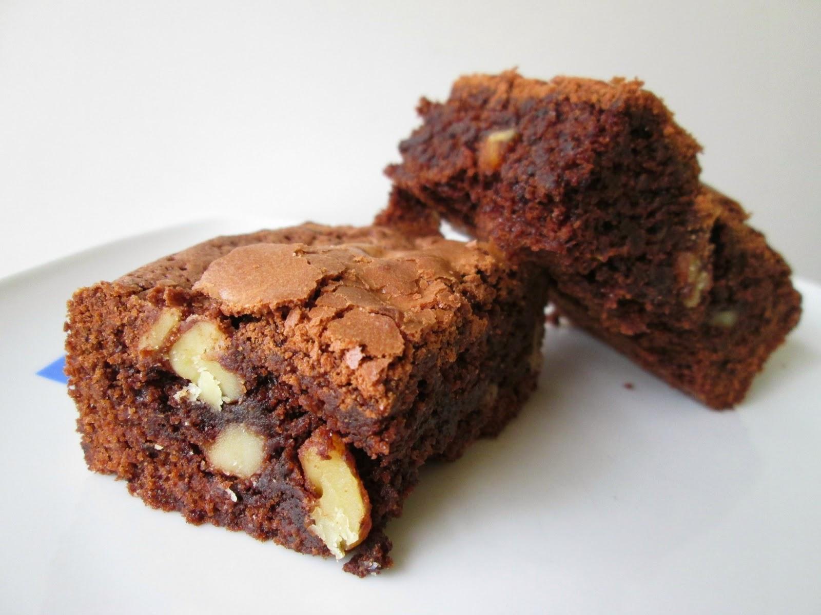 la mejor receta de brownie americano