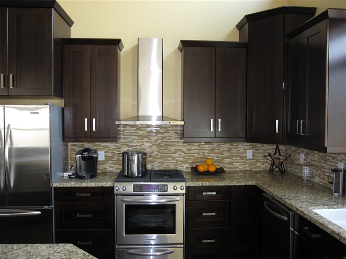 Colored Kitchen Cabinets Pictures Quicuacom