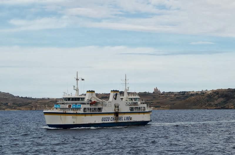 ferry Gozo channel