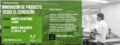 Ecodiseño Oscar Cuervo Diseño Colombia Bogotá