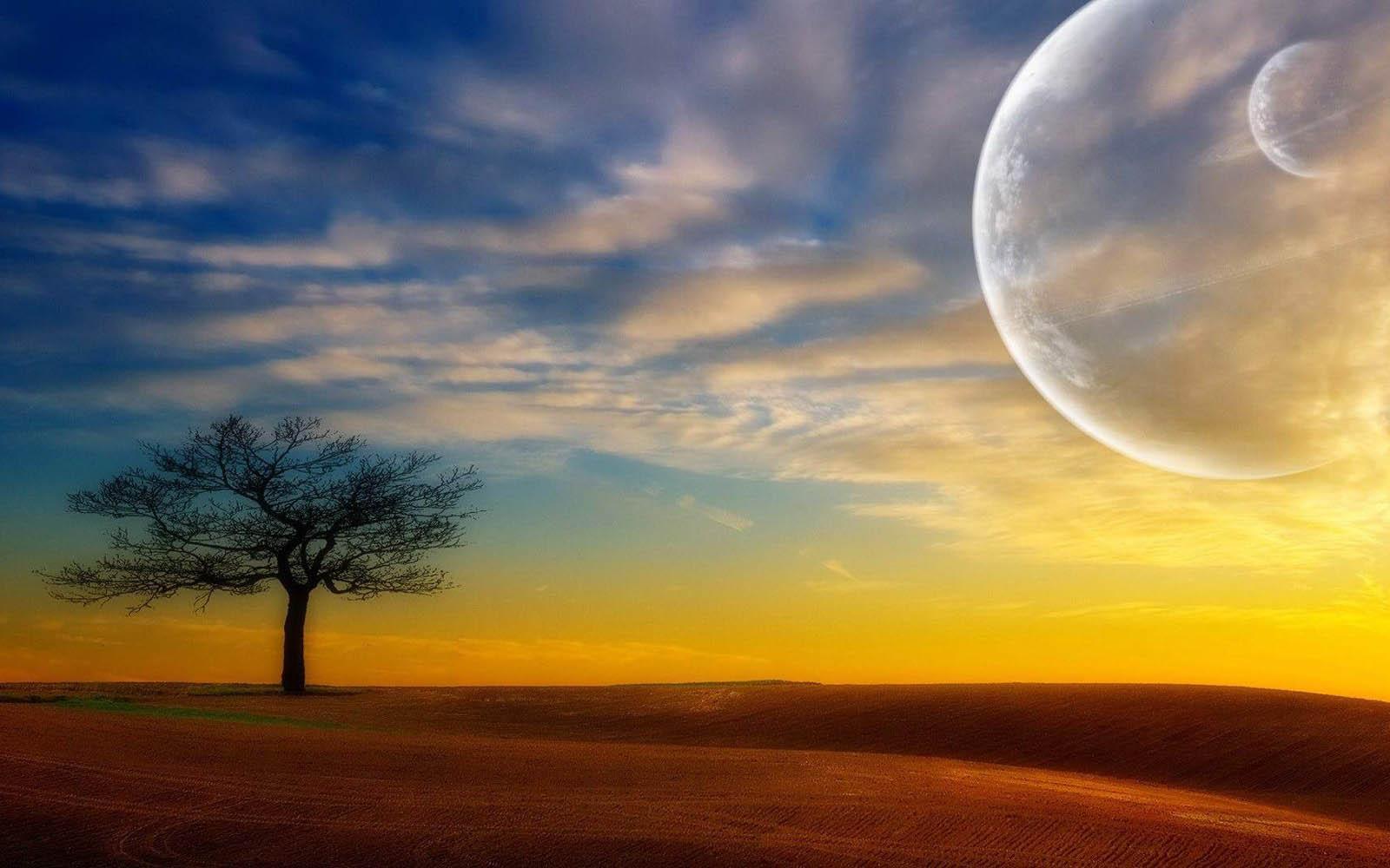 3d nature wallpaper moon - photo #13