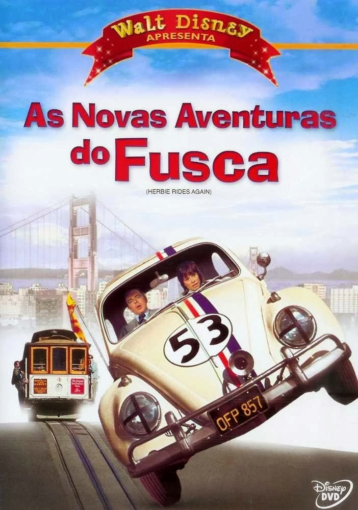 As Novas Aventuras do Fusca – Dublado (1974)