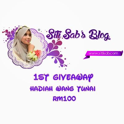 Giveaway Pertama SitiSab