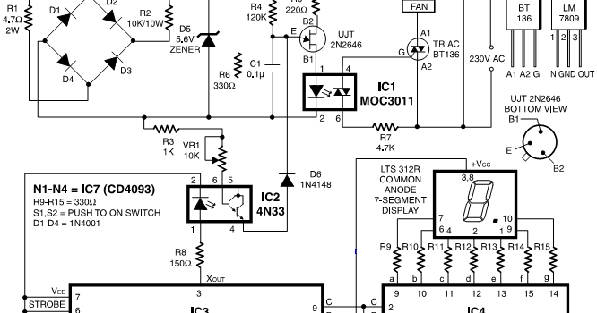 simple but digital fan regulator
