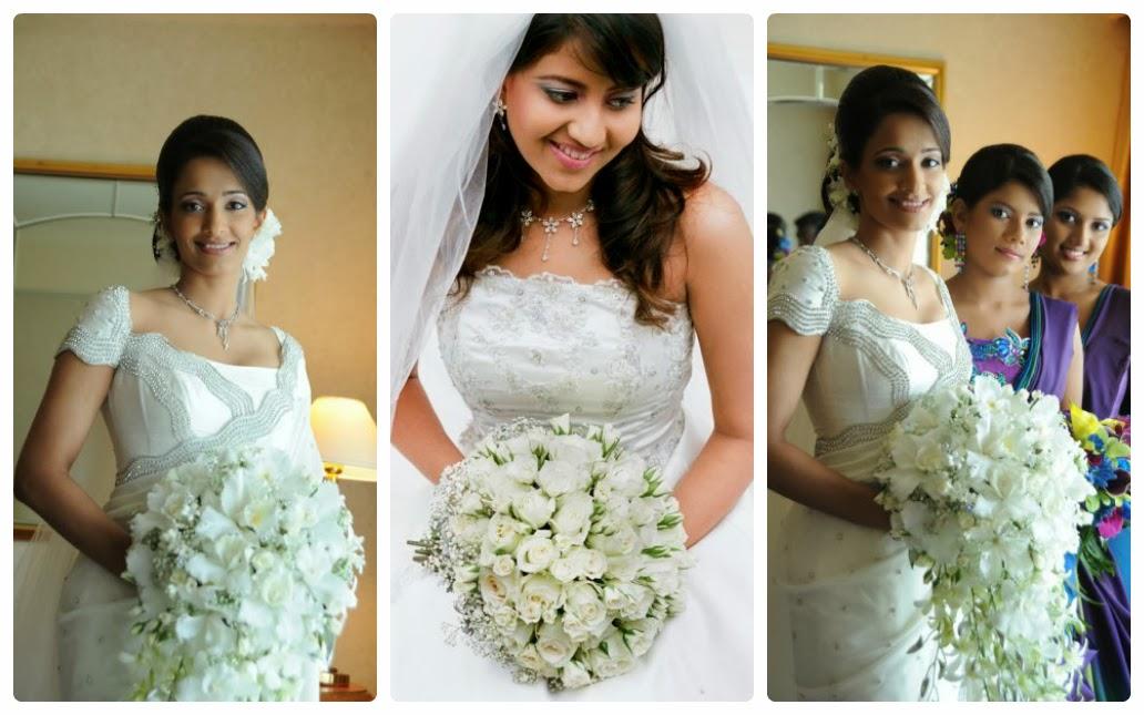 Sri Lankan Wedding Brides Dresses