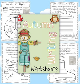 Autumn Worksheets Clever Classroom