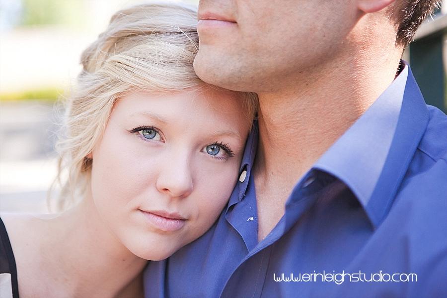 gorgeous blue eyed bride