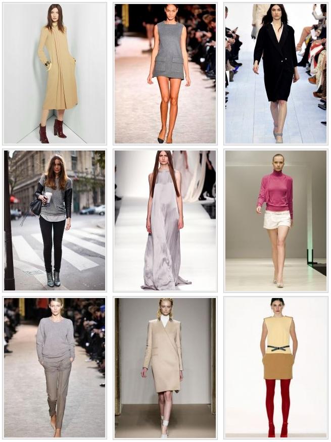 Минимализм в одежде только самое необходимое но высшего качества!