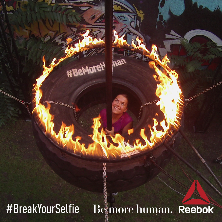 be more human break your selfie jasmin fatschild