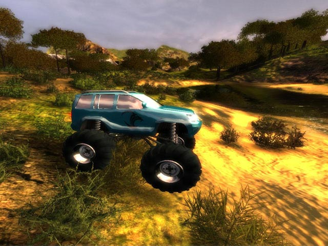 - لعبة Bigfoot 4x4 Challenge