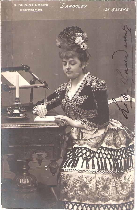 FRENCH SOPRANO LISE LANDOUZY (1861-1943) CD