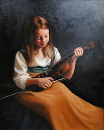 Thomas Bakergirl - With a violin