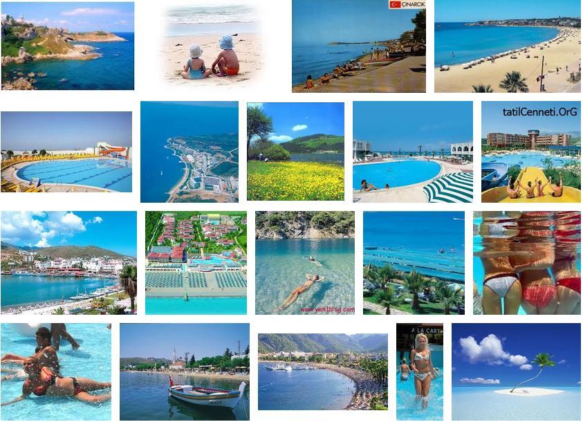 tatil bölgeleri tatil yöreleri resimleri