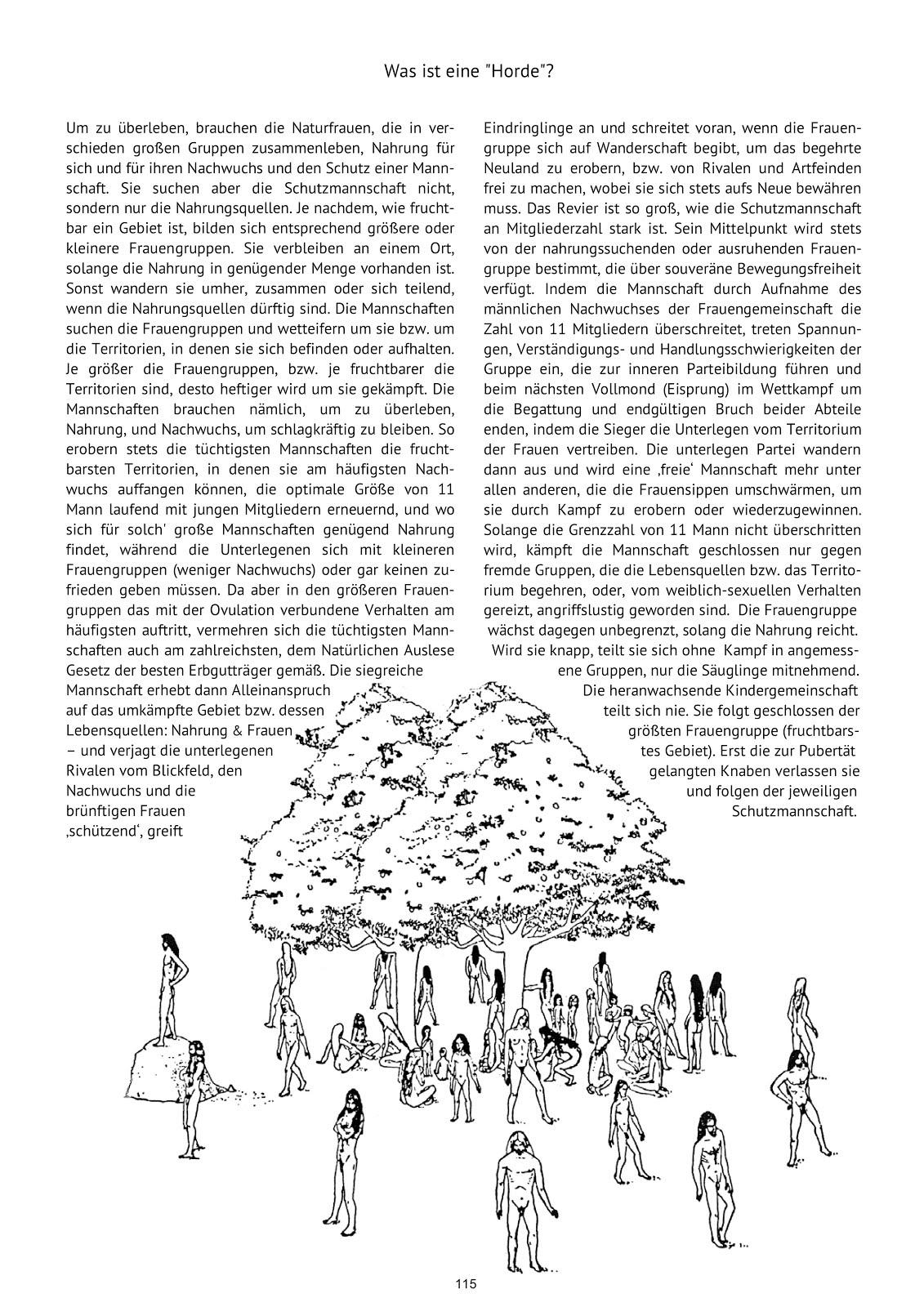 Die Primatische Urlebensform der Menschheit