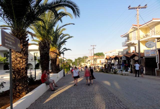 A Glimpse of Skala Town in Kefalonia, Greece