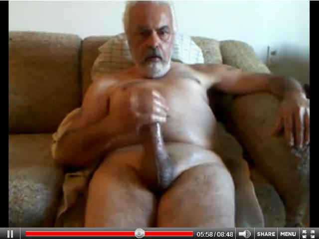 big cock grandpa - jerking videos - cumshot videos - video silver daddies