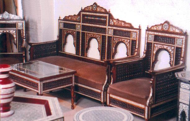 arabian furnitures an interior design