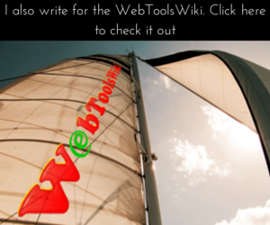 I'm a writer for the WebToolsWiki