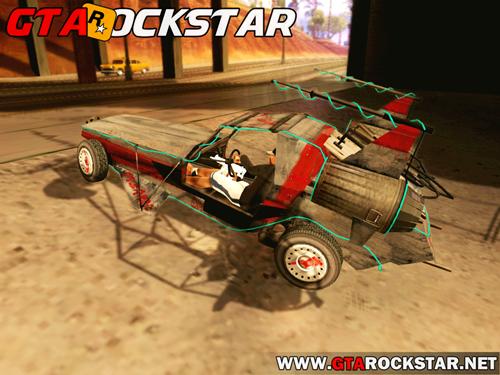 GTA SA - Space Docker Convertido do GTA V
