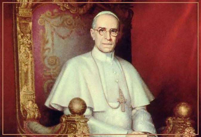 Pope Pius XII ORA PRO NOBIS