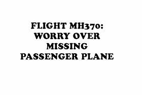 SEARCH FOR MISSING PASSENGER FLIGHT:
