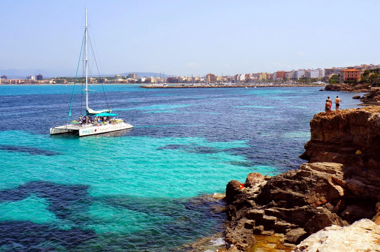 Paseando por la costa desde El Arenal hasta Cala Blava