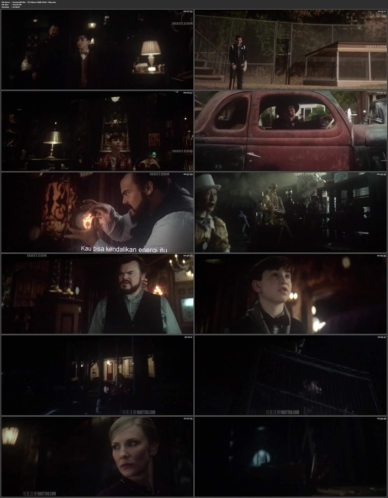 The House with a Clock in Its Walls 2018 English HDCAM 720p