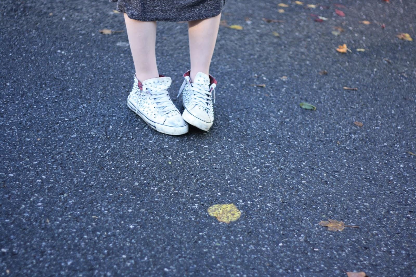 baskets cloutées zara