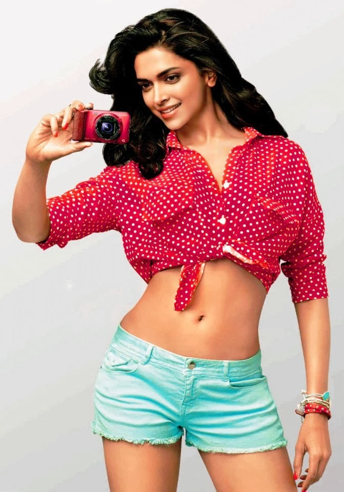 Deepika Padukone Unseen latest Rare Pics in blue mini shorts mini skirts and red bra top panties