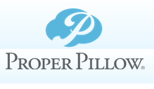 proper pillow logo