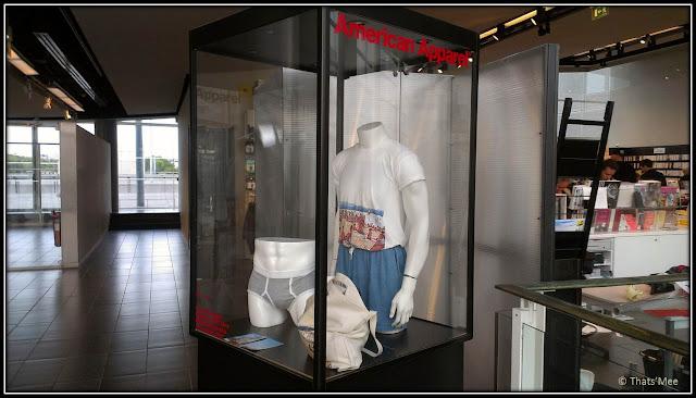 pop-up store American apparel MK2 Bibliothèque