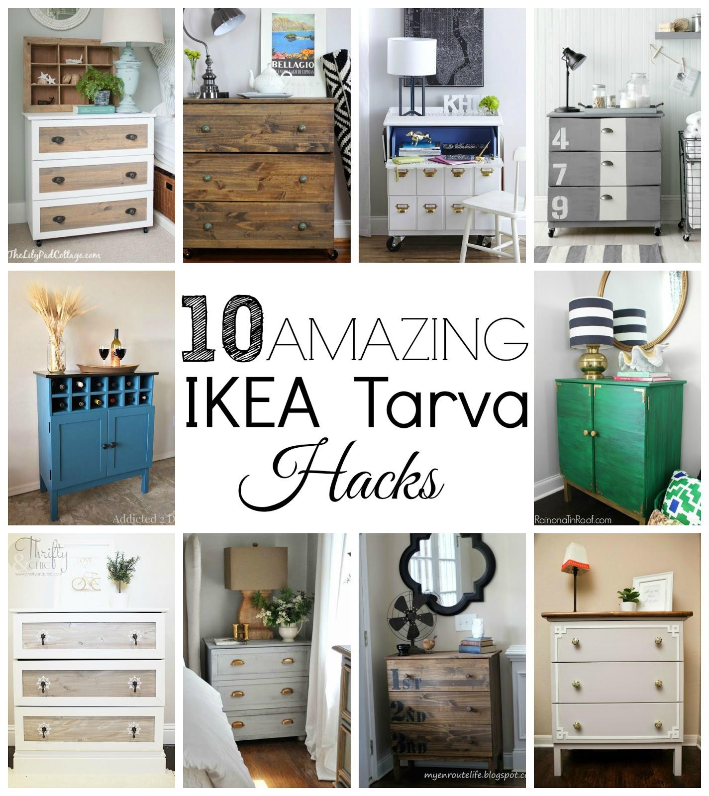 ikea furniture hacks. 10 Amazing IKEA Tarva Hacks Ikea Furniture U