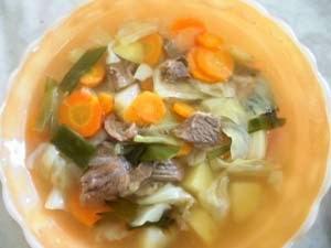 Cara Membuat Sayur Sop Daging
