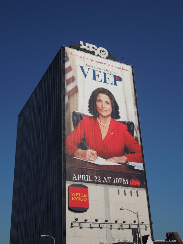 Veep season 1 HBO billboard