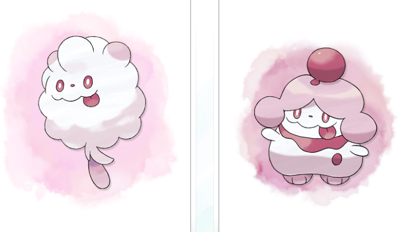 But No Instead Of That I Can Show You The New Twerk Pokmon Thats Right Cotton Candy Swirlix Slurpuff Look Awfully Like Theyre