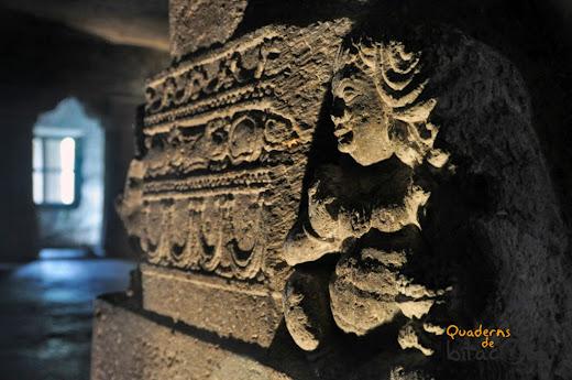 escultura templo Ajanta