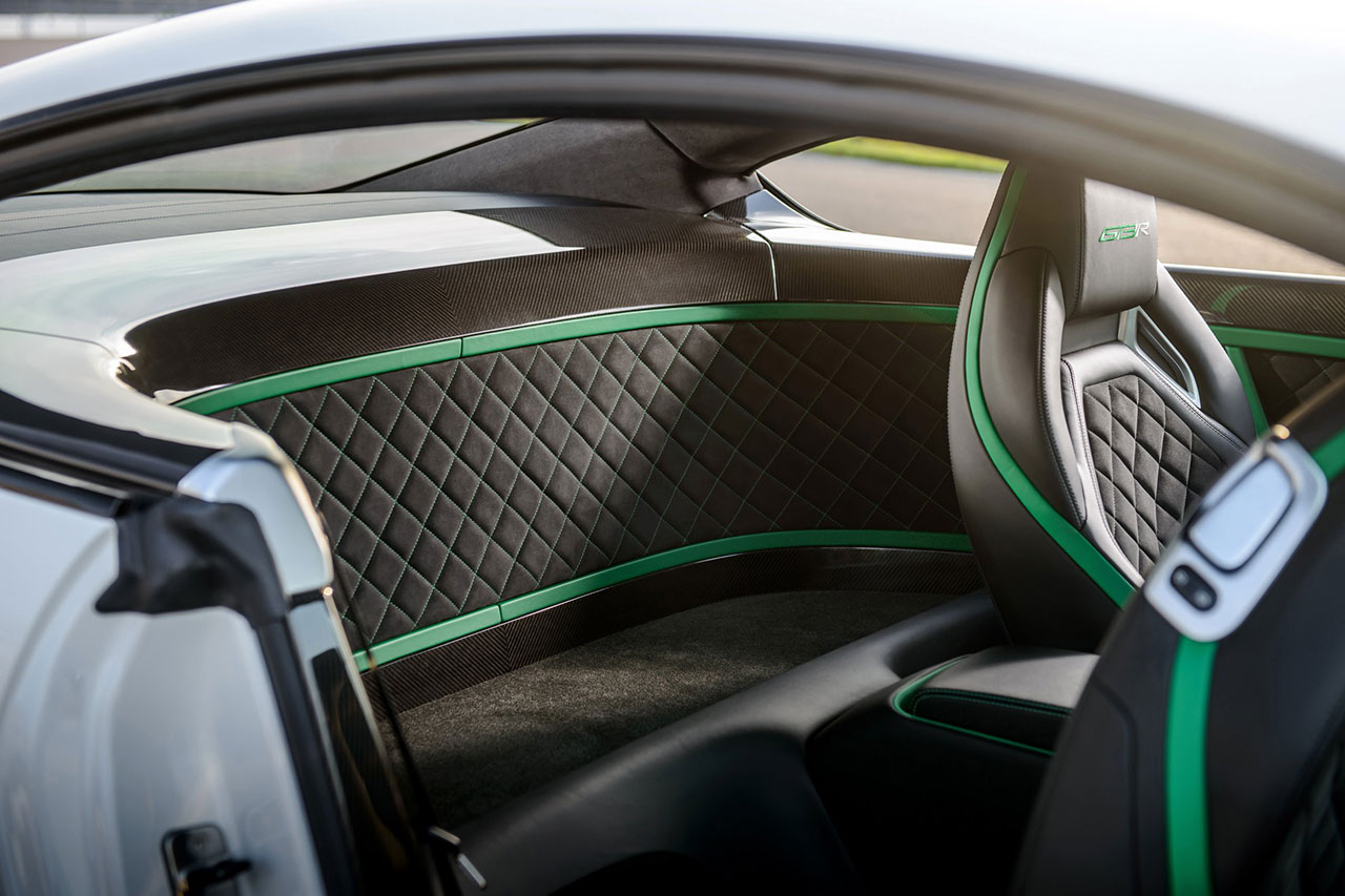 Bentley Continental GT3-R interior
