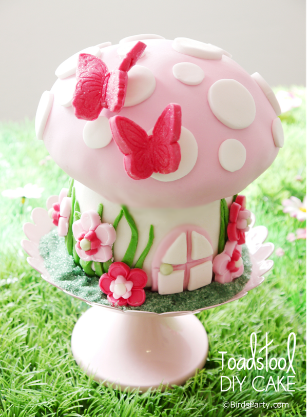 How To Make A Toadstool Birthday Cake Party Ideas Printables